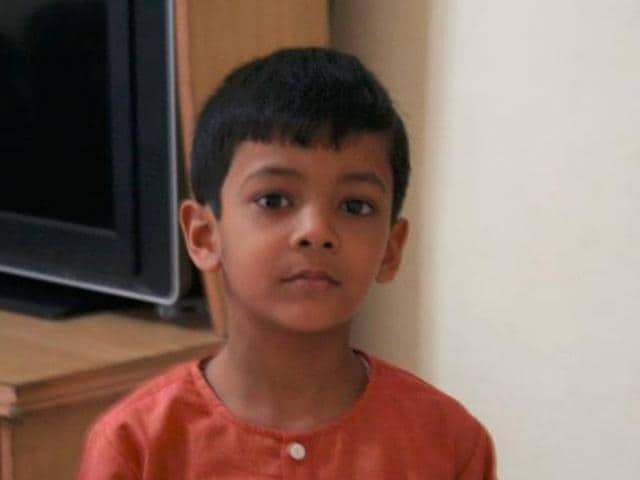 The incident occurred on Wednesday evening when Aditya Wardhan, 9, was playing in the swimming pool of Mahagun Moderne society at Sector 78.
