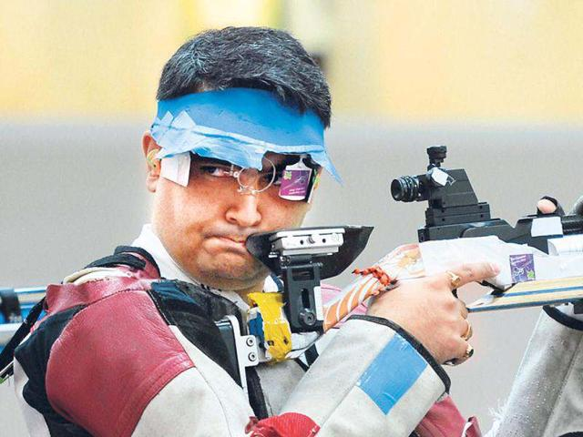 10m air rifle,shooting,Abhinav Bindra