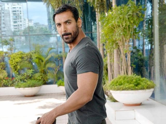 The leg-press machine is an important part of my routine, says John Abraham.