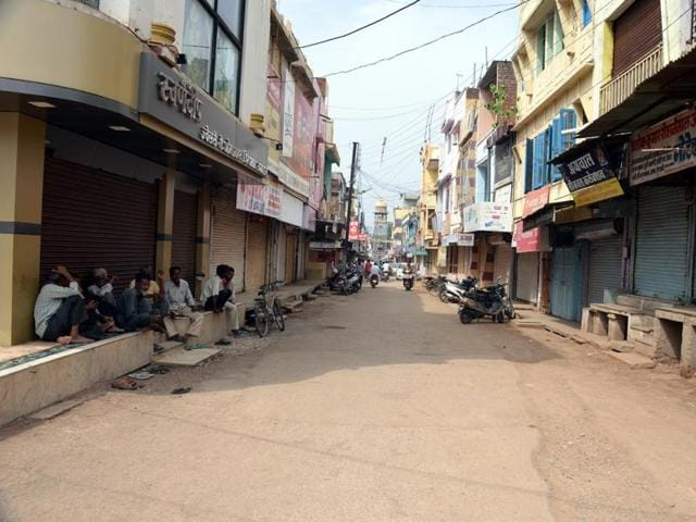 Many towns in the Neemuch (in picture) and Mandsaur districts of Madhya Pradesh saw an unannounced bandh on Eid-ul-Fitr,  July 7, 2016.