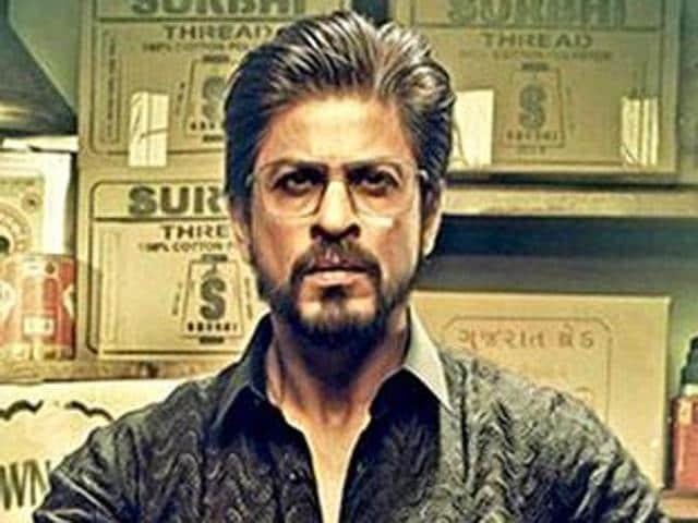 Shah Rukh Khan in Raees.