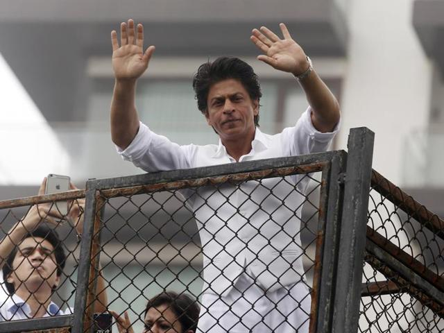 SRK's remarks on intolerance had landed him in trouble last year after he had said that there was 'extreme intolerance in the country'.