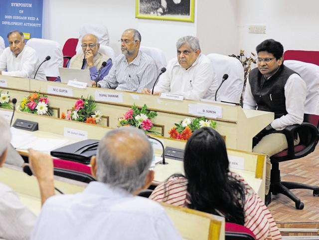 In a symposium 'Does Gurgaon need a development authority' organised by HIPA, the participants came up with a number of recommendations.