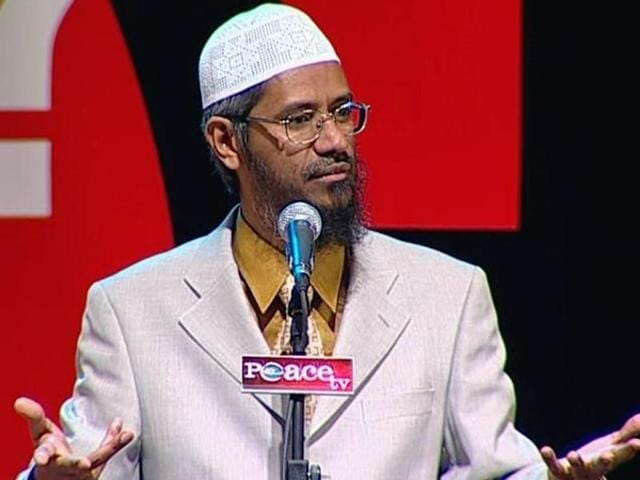 Supporters of controversial Islamic preacher Zakir Naik took out a solidarity march in Srinagar on Friday to condemn any action that might be taken against the scholar.