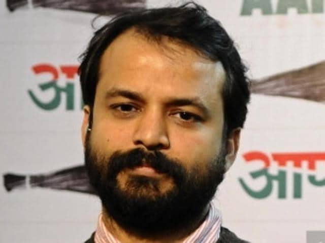 Aam Aadmi Party (AAP) spokesperson Ashish Khetan.