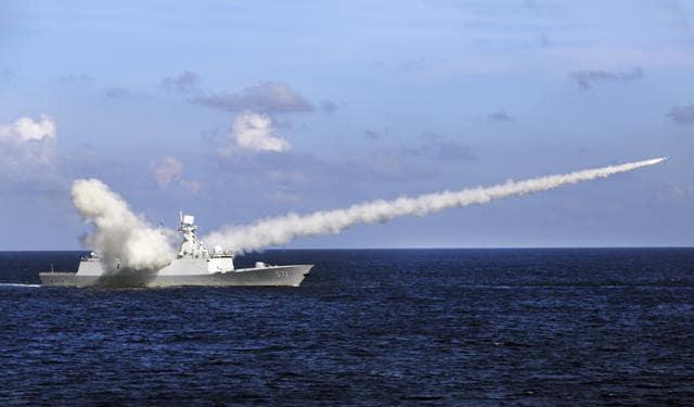 Chinese warships,Chinese navy,South China Sea