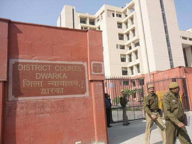 District Court at Dwarka.(Vipin Kumar / HT File)