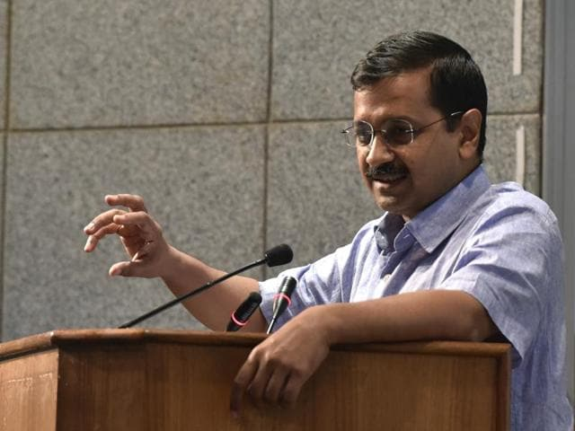 Delhi chief minister is on a two-day visit of Gujarat  for Aam Aadmi Party's poll campaign for the 2017 state elections.