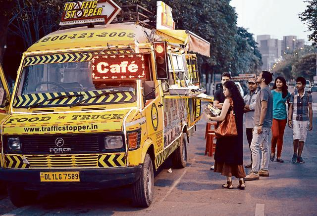 Food trucks that not only serve Indian foods but also exotic cuisines are very popular in Gurgaon. There are 150 such trucks in the city at present.