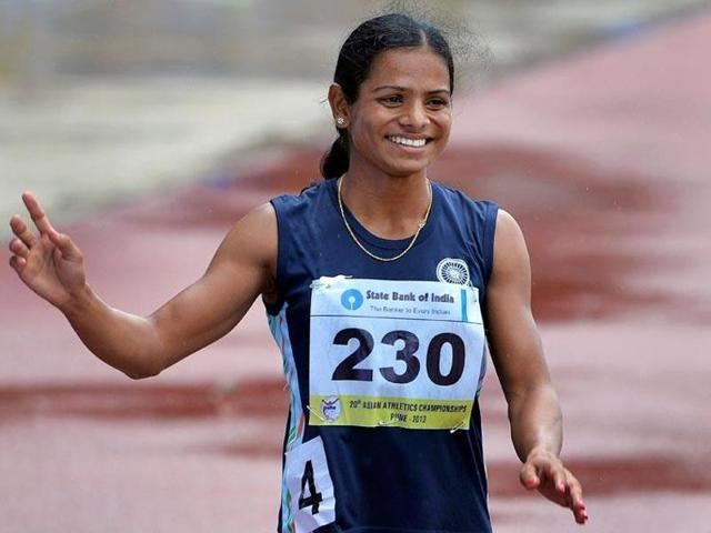 Dutee became the first Indian female athlete in 36 years to qualify for the 100 metres in an Olympics after PT Usha at the 1980 Moscow Games.