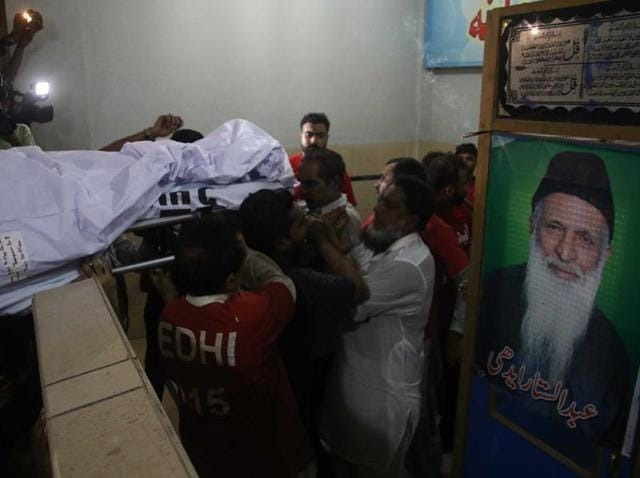The founder of Pakistan's largest welfare organisation, Abdul Sattar Edhi, was almost unanimously revered as a national hero. He died on July 8.