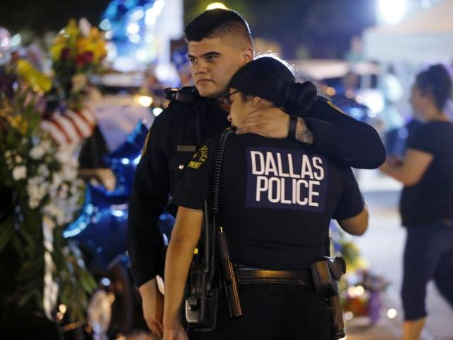 Dallas shootings,Use of robots,Robots