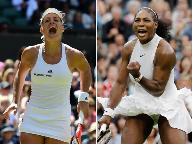 Serena Williams,Angelique kerber,Wimbledon final
