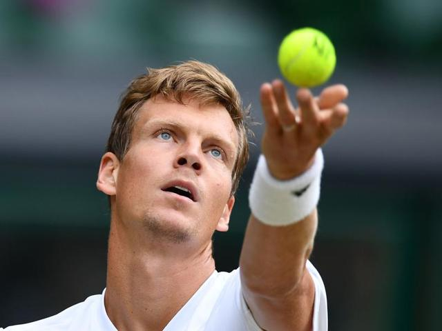 Berdych is in line for the final qualifying spot but his lead over David Goffin is slender.(AFP)