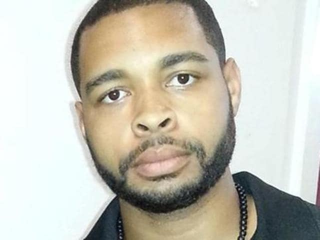 Micah Xavier Johnson, a man suspected by Dallas Police in a shooting attack and who was killed during a manhunt, is seen in an undated photo from his Facebook account. (REUTERS)