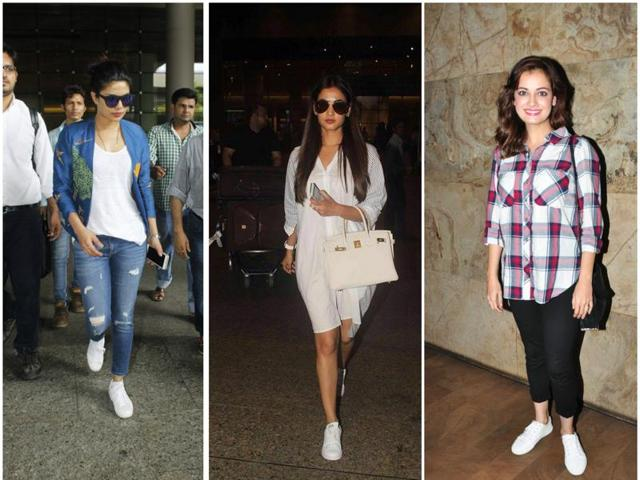 Bollywood celebrities are slaying in white sneakers and how.