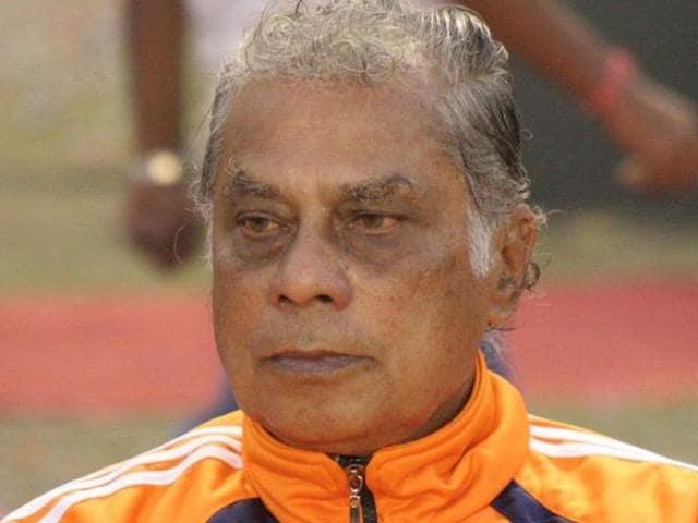 A file photo of former Indian footballer Amal Dutta.