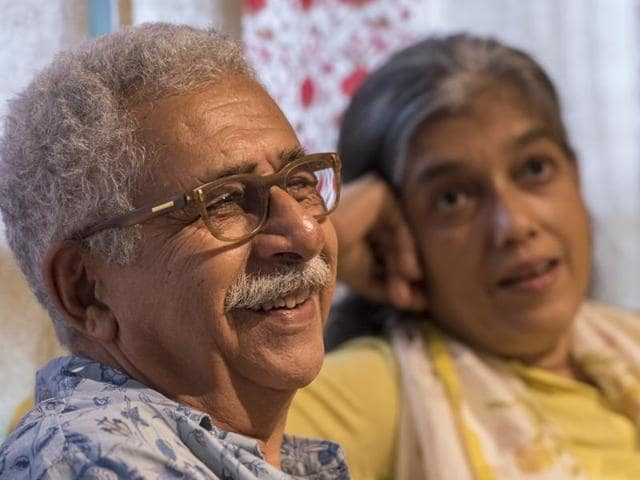 Bollywood actor Naseeruddin Shah and his wife Ratna Pathak talk about theatre and films.