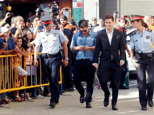 Lionel Messi,Barcelona,Tax evasion