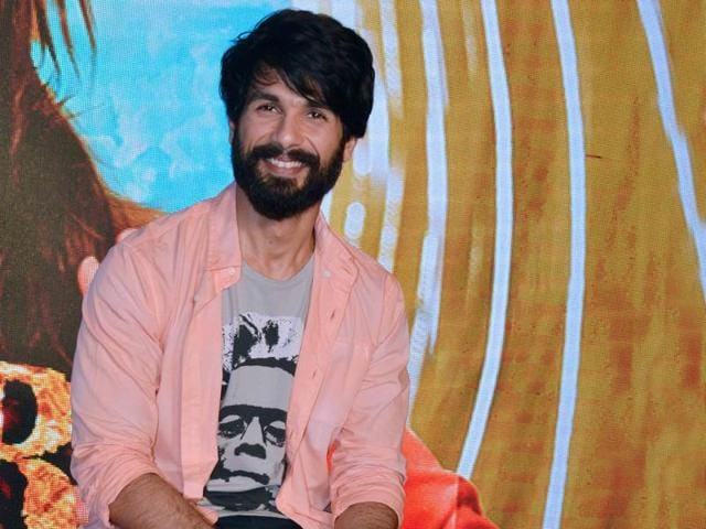 """Shahid Kapoor says he likes the fact that he now has someone who keeps a """"minute-to-minute"""" track of his movements."""