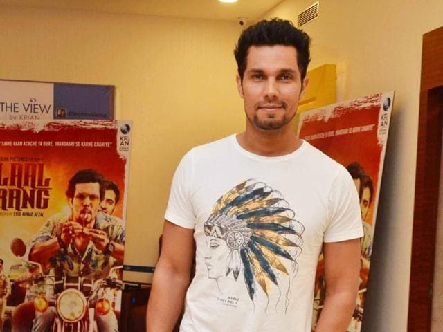 Unlike many of his contemporaries, Randeep Hooda doesn't have a godfather in the film industry.