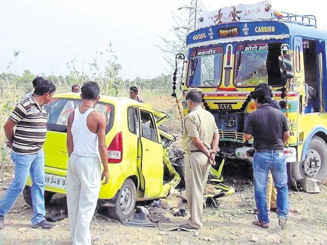 In the last nine days 33 people died and 46  injured in road accidents.