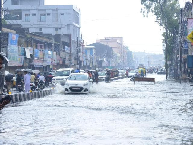 flood in MP