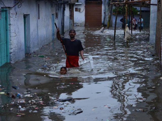 flood in MP,heavy rains in Madhya Pradesh,flood in Bhopal