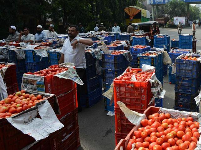 Veggie prices,APMC,Trader strike