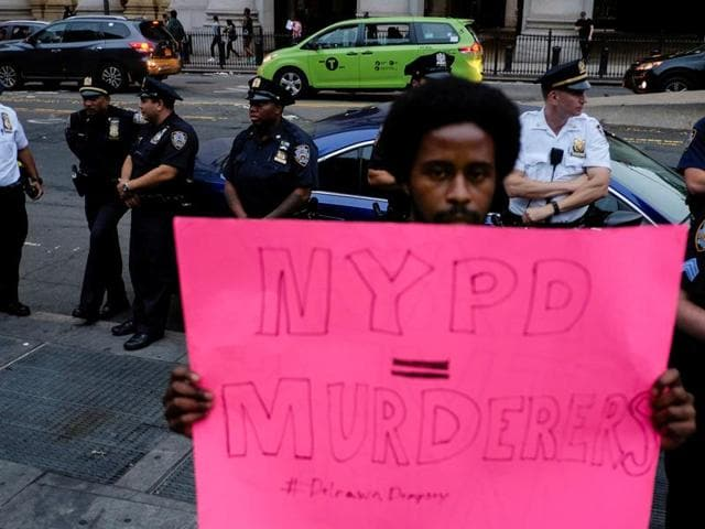 US,Police killings,Protests
