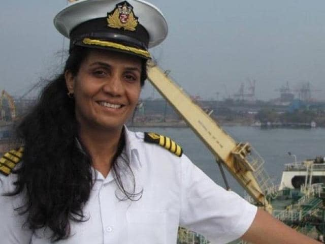 Radhika Menon is the first woman captain of the Indian Merchant Navy to receive a bravery award.