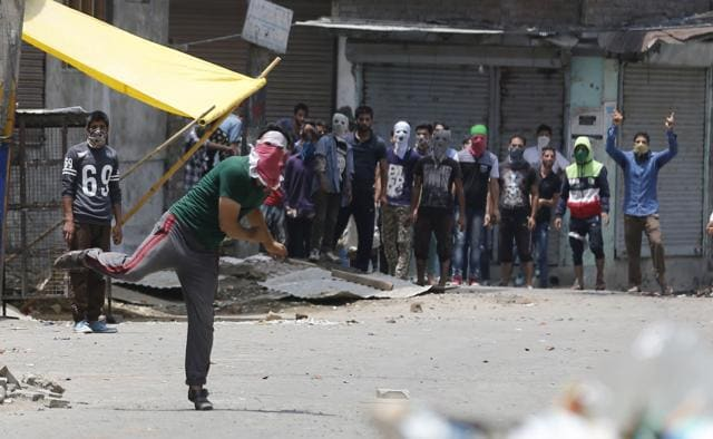 18 people have been killed and 200 injured in clashes between protesters and security personnel following the killing of Hizb militant Burhan Wani in an encounter on Friday.