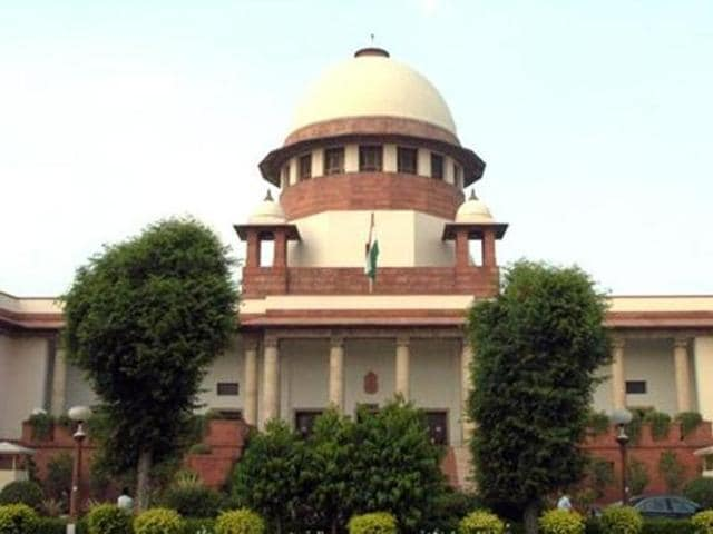 A Supreme Court bench said there was no legal provision to evict the farmers.
