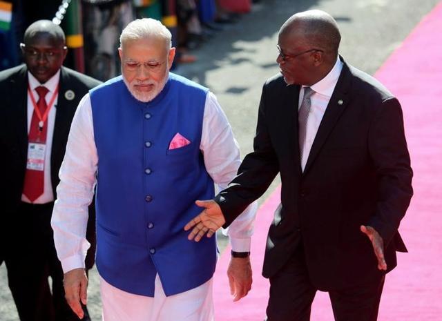 Modi in Africa