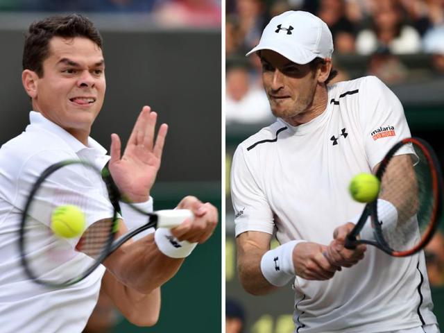 Wimbledon 2016,Andy Murray,Milos Raonic