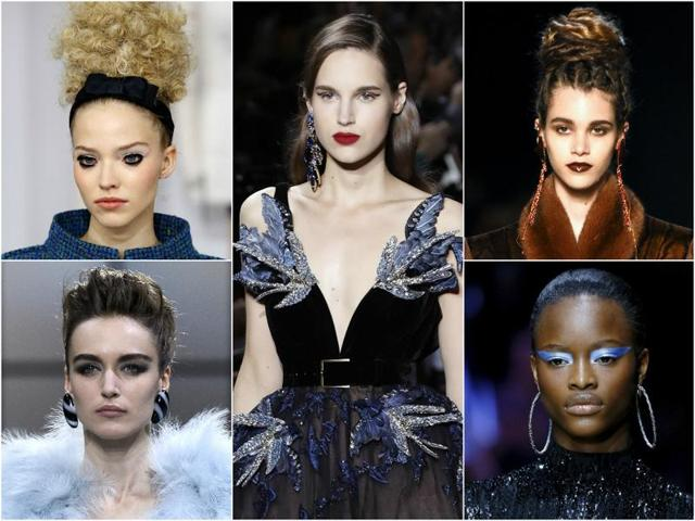 The abstract and audacious makeup artistry seen on the Paris ramp walks during this year's fall Couture Week may well have paved way for a few  fashion trends.