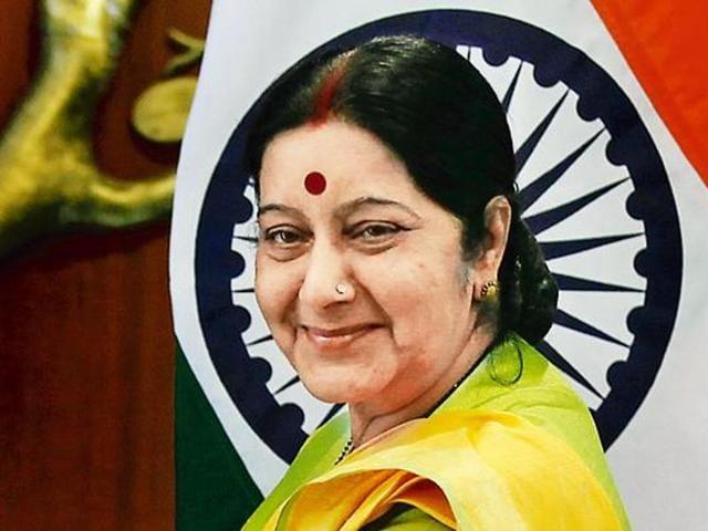 Sushma Swaraj,external affairs minister,Samain village