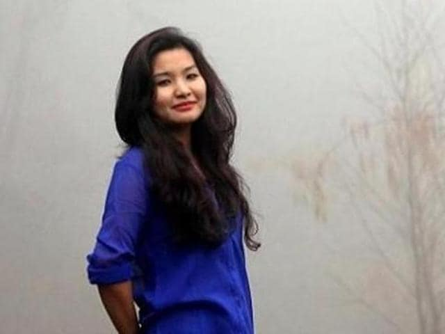 """Monika Khangembam wrote on her Facebook wall that when she went to the immigration desk at IGI around 9pm on Saturday, an official looked at her passport and said, """"Indian toh nahi lagti ho"""" (you don't look Indian). (Monika's Facebook profile)"""