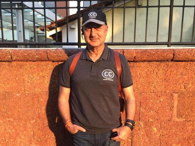 Actor Anupam Kher talks about his weight loss and what inspired him to get fit.