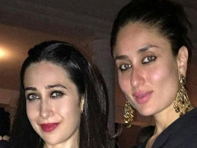 Karisma and Kareena are yet to work together in a film. (HT Photo)