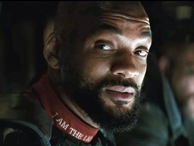 Will Smith plays Deadshot in Suicide Squad, due out in August.