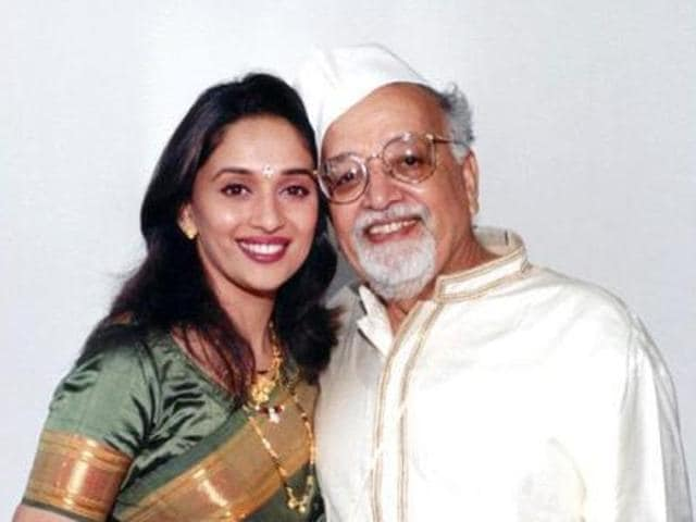 Madhuri Dixit,Emotional,Father