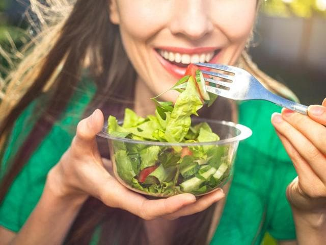 Happiness increases incrementally for each extra daily portion of fruit and vegetables up to eight portions per day, finds a new study.