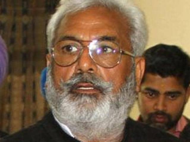 Punjab health minister Surjit Kumar Jyani.