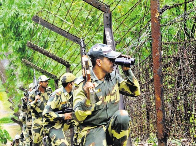The Border Security Force foiled two infiltration bids along the International Border in Kathua and Samba districts of Jammu and Kashmir.