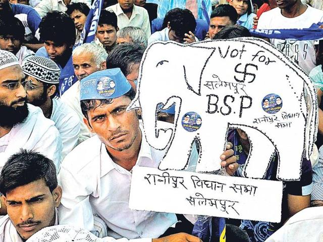 The BSP is showing signs of a tentative political revival. It seeks to capitalise on the electorate's perception of the Samajwadi Party as a party without a handle on the state's administrative machinery