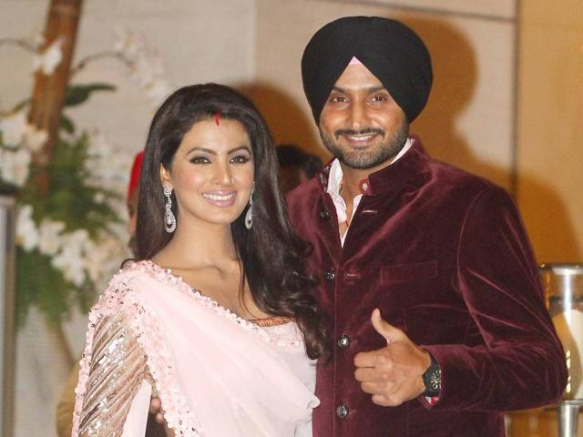 Cricketer Harbhajan Singh and his wife, actor Geeta Basra, are expecting their first child.