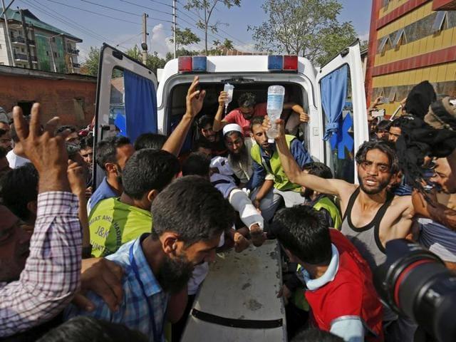 Rajnath Singh,Kashmir clashes,Omar Abdullah