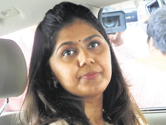 This controversy comes close on the heels of the Rs206 crore chikki scam that Pankaja Munde's department had been hit with recently.
