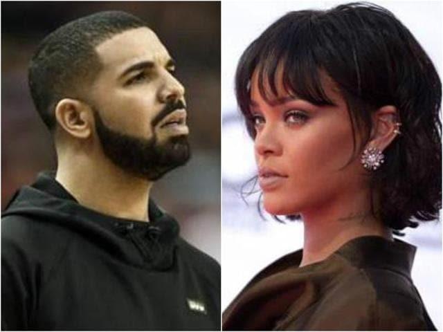 Drake,Rapper Drake,Rihanna